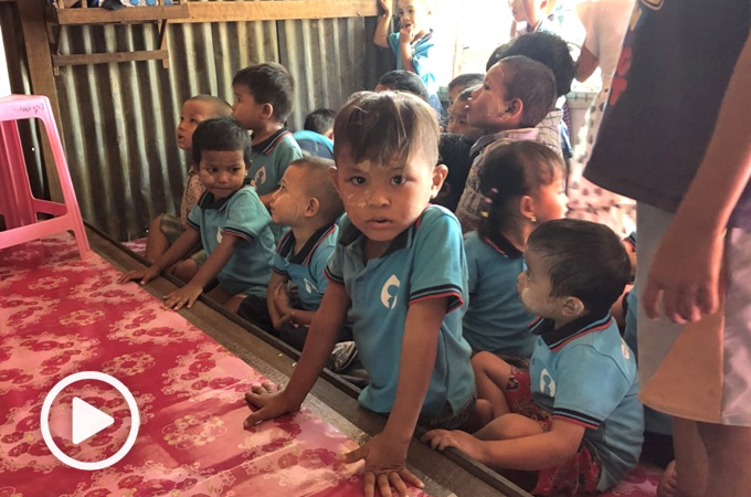 HKU students bring fresh hope for Myanmar children