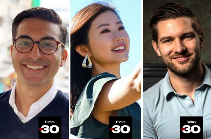 HKU Young Alumni selected as Forbes 30 Under 30 Asia