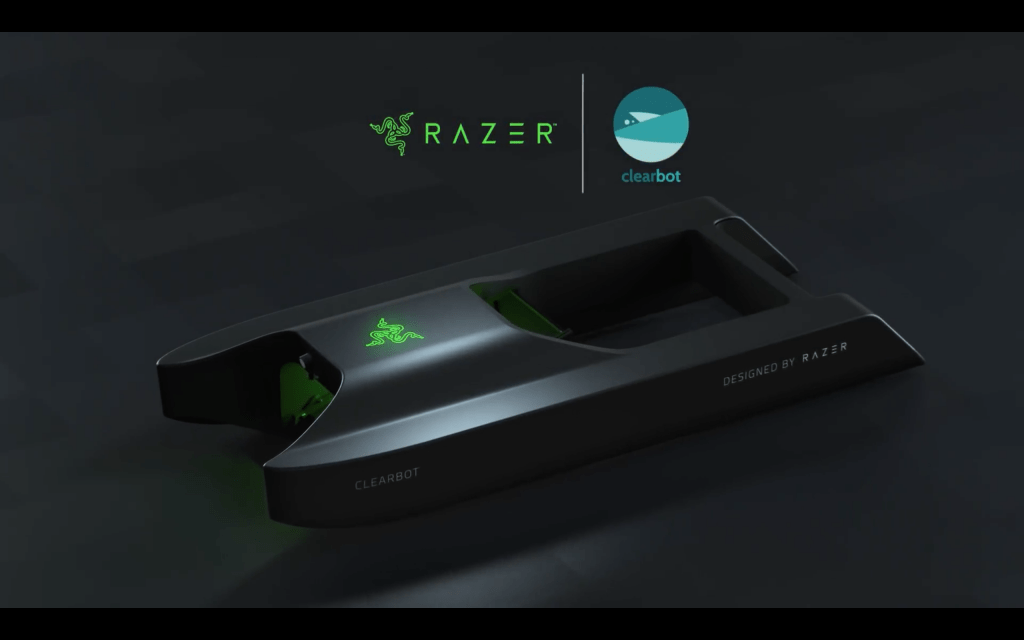 [Clearbot x Razer   using an AI robot to clean up ocean waste]