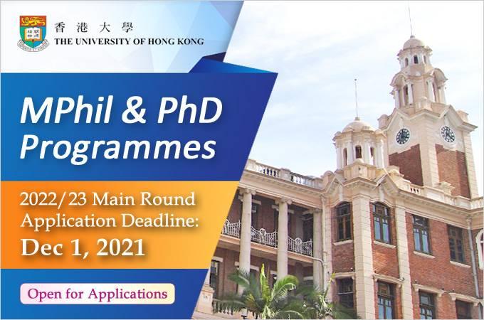 MPhil and PhD Programmes 2022-23